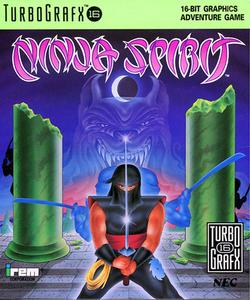Ninja Spirit - Turbo Grafx 16 Game