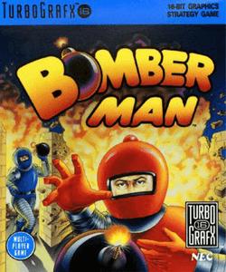 Bomberman - Turbo Grafx 16 Game