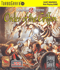 D&D Order of the Griffon - Turbo Grafx 16