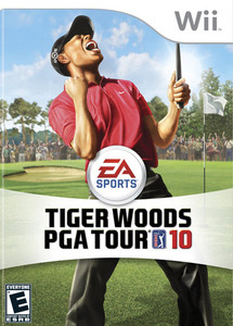Tiger Woods PGA Tour 10 - Wii Game