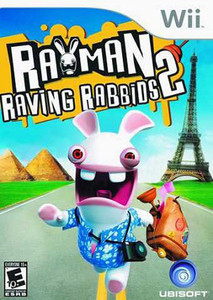 Rayman Raving Rabbids 2 - Wii Game