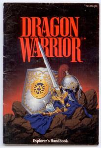 Dragon Warrior Explorer's Handbook - NES Manual