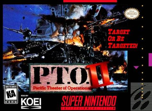 P.T.O. Pacific Theater of Operations II - SNES Game