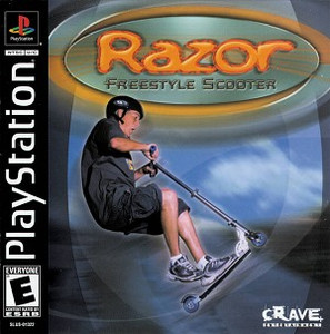 Razor Freestyle Scooter PS1 Game
