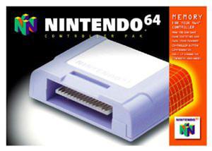 Original Controller Pak - Empty N64 Box