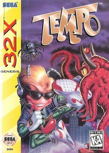 Tempo 32X game box art