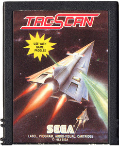 Tac-Scan - Atari 2600 Game
