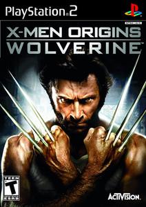 X-Men Origins Wolverine - PS2 Game