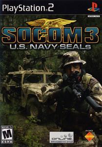 Socom 3 U.S. Navy Seals - PS2 Game
