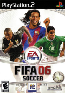 FIFA Soccer 06 PS2 Game