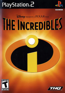 Incredibles, Disney Pixar The - PS2 Game