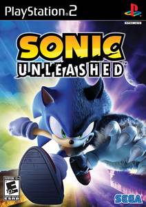 Sonic Unleashed - PS2 Game