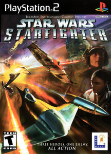 Star Wars Starfighter - PS2 Game