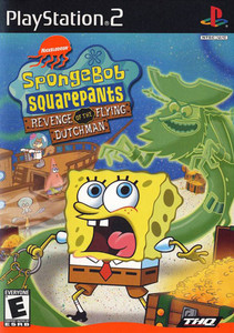 SpongeBob SquarePants Revenge of the Flying Dutchman - PS2 Game