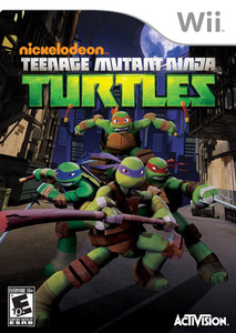 Teenage Mutant Ninja Turtles Nintendo Wii Game