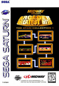 Arcade's Greatest Hits: The Atari Collection 1 - Saturn Game