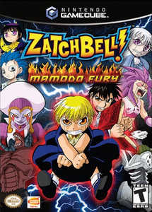 Zatch Bell! Mamodo Fury - GameCube Game