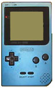 Game Boy Pocket System Ice Blue