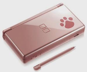 Nintendo DS Lite Metallic Rose Nintendogs
