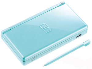Nintendo DS Lite Ice Blue with Charger