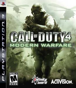Call of Duty 4 Modern Warfare - PS3 Game