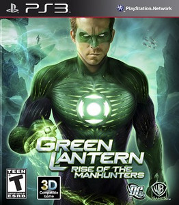 Green Lantern Rise of the Manhunters - PS3 Game