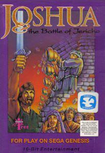 Joshua & the Battle of Jericho Genesis Game Box