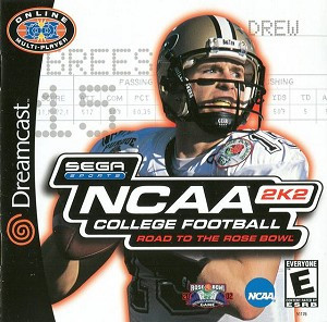 NCAA 2K2 College Football - Dreamcast Game
