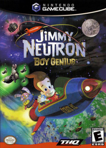 Jimmy Neutron Boy Genius - GameCube Game