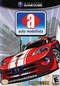 Auto Modellista - GameCube Game
