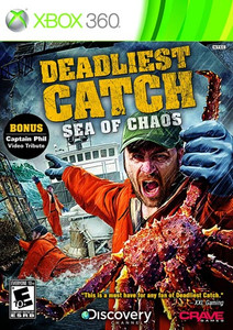 Deadliest Catch Sea of Chaos - Xbox 360 Game