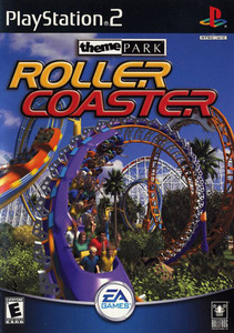 Theme Park Roller Coaster - PS2 Game