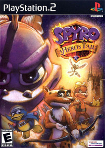 Spyro A Hero's Tail - PS2 Game