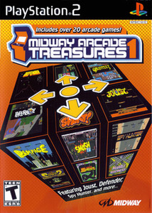 Midway Arcade Greatest Treasures 1 - PS2 Game
