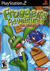 Frogger's Adventures The Rescue - PS2 Game