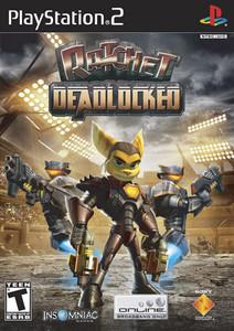 Ratchet Deadlocked - PS2 Game