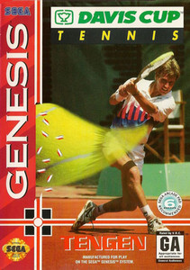 Davis Cup Tennis Genesis Cover Art