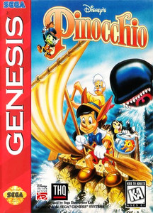 Pinocchio, Disney's - Genesis Game