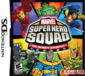 Marvel Super Hero Squad Infinity Gauntlet - DS Game