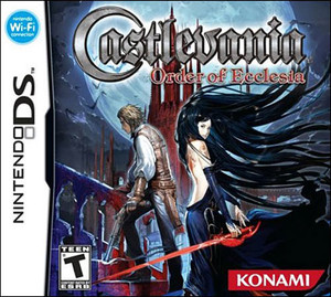 Castlevania Order of Ecclesia - DS Game