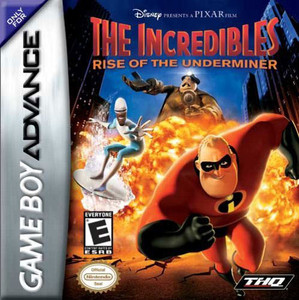 Incredibles Rise of the Underminer - Game Boy Advance Game