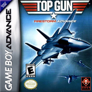 Top Gun Firestorm - Game Boy Advance Game