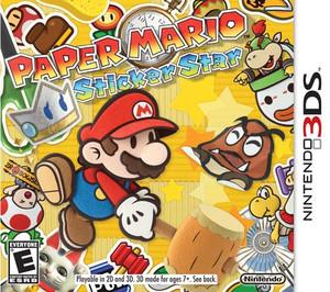Paper Mario Sticker Star - 3DS Game