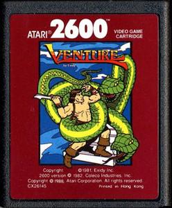 Venture Red Label - Atari 2600 Game