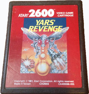 Yars' Revenge Red Label - Atari 2600 Game