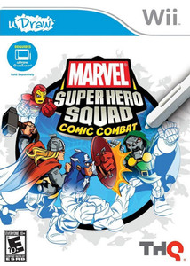uDraw Marvel Super Hero Squad Comic Combat - Wii Game