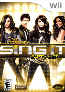 Sing It Party Hits, Disney - Wii Game