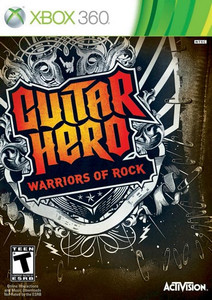 Guitar Hero Warriors of Rock - Xbox 360 Game