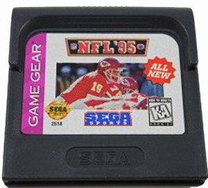 NFL 95 - Game Gear Game