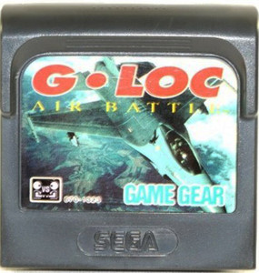 G-Loc - Game Gear Game